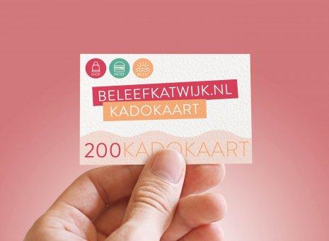 Kadokaart 20x€10