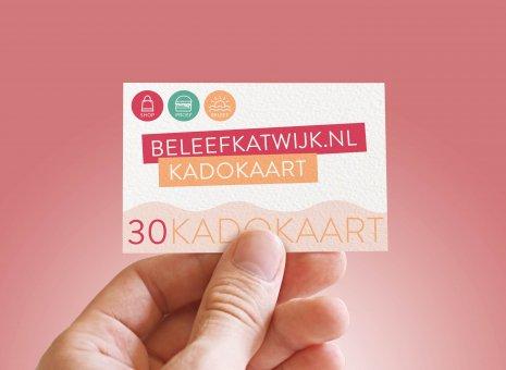 Kadokaart 3x€10